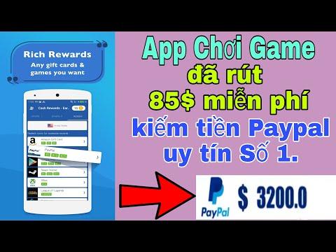 App Kiếm Tiền Paypal Nhanh Và Uy Tín Số Một Hiện Nay. Đã Rút 85$ Miễn Phí.