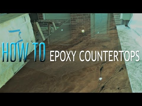 How to - Epoxy Countertops