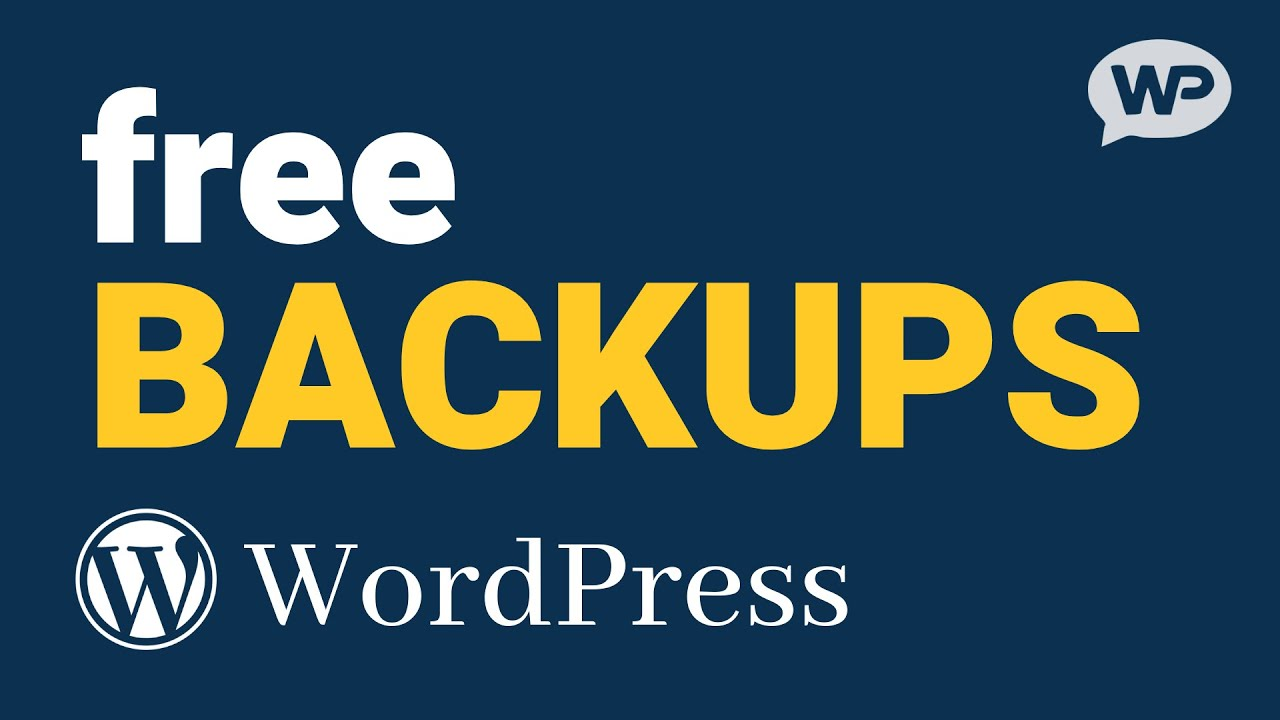How to Backup a WordPress Website (and Database)