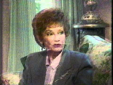 """Meet The Golden Girls Sofia"" (1992) Estelle Getty Interview"