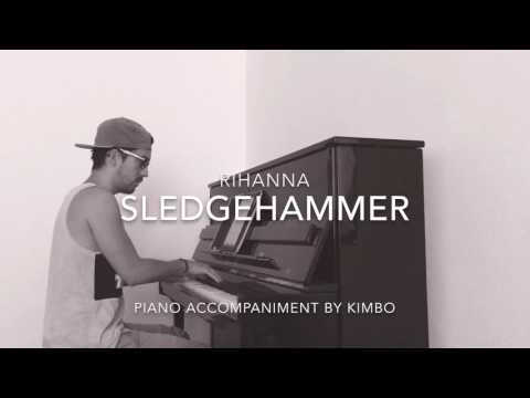 Rihanna - Sledgehammer (Star Trek Beyond) (Piano Accompaniment/Karaoke/Sing Along + Sheets)