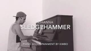 Rihanna - Sledgehammer (Star Trek Beyond) (Piano Accompaniment/Karaoke/Sing Along + Sheets)