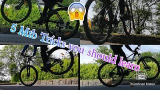 5 Mtb Skills And Tricks To Learn
