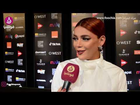 """هبة السيسي: ودعت الإطلالات الجريئة لأني """"حامل"""".. وزوجي يتدخل بلباسي"""