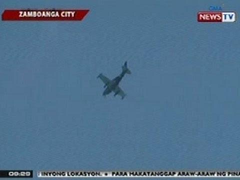 SONA: Airstrike, isinagawa ng militar sa Zamboanga City