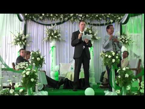 James and Canberra's Wedding speeches