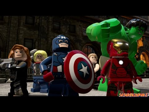 Lego Marvel's Avengers - Age Of Ultron Playthrough - Part 8 - Avengers Assemble