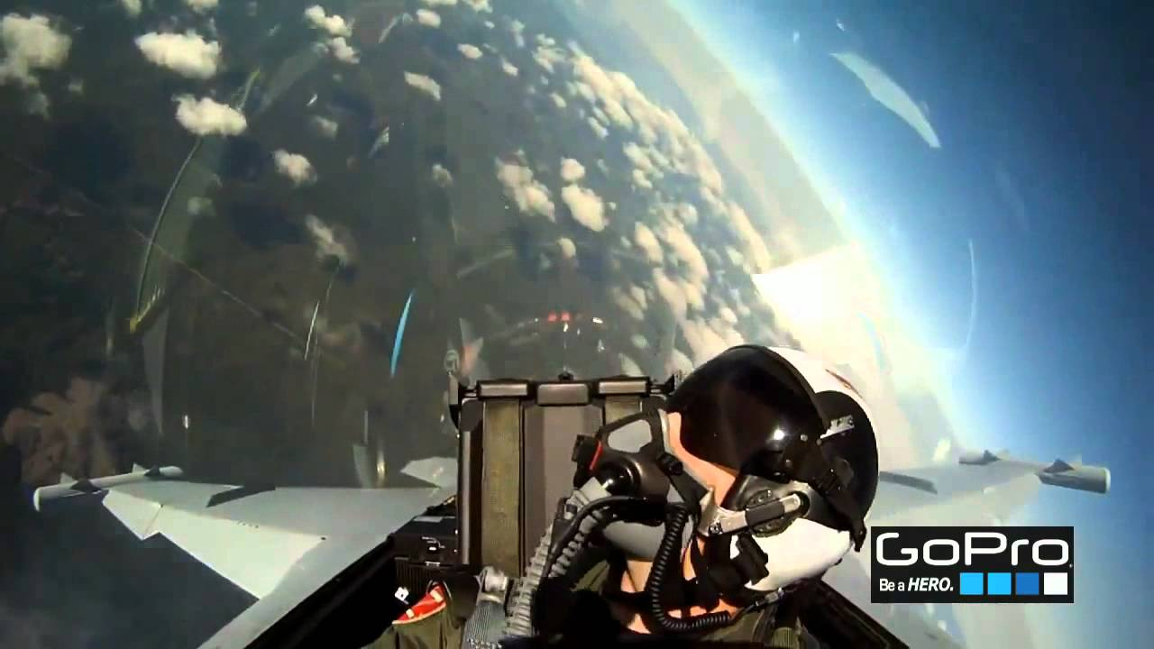 Pilotos De Caza Incre 237 Ble Gopro Hd Youtube