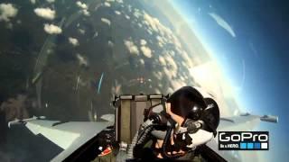 Pilotos de caza increíble GoPro HD