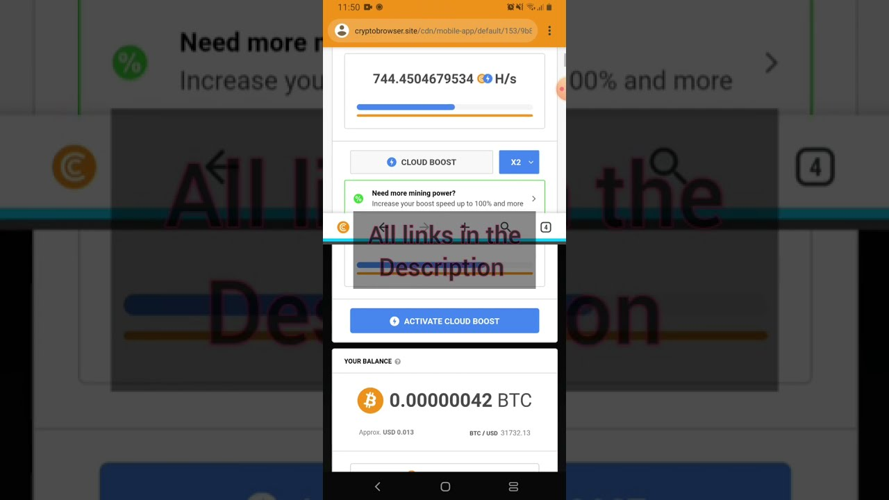 Cryptotab promaximum Hash rate for any device