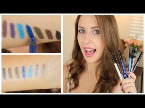 NYX Slide-On Eyeliner Pencil Review   Makeup Minute