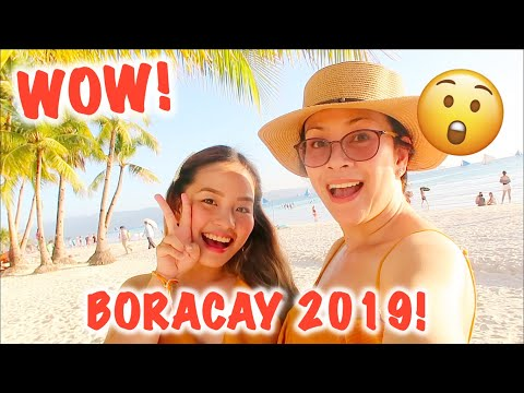 WOW BORACAY 2019! FRESH & NEW!! | Haidee and Hazel