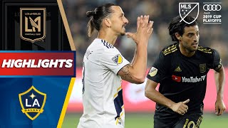 LAFC 5-3 LA Galaxy | Zlatan, Vela, El Tráfico. The Biggest MLS Playoff Game Ever? | HIGHLIGHTS