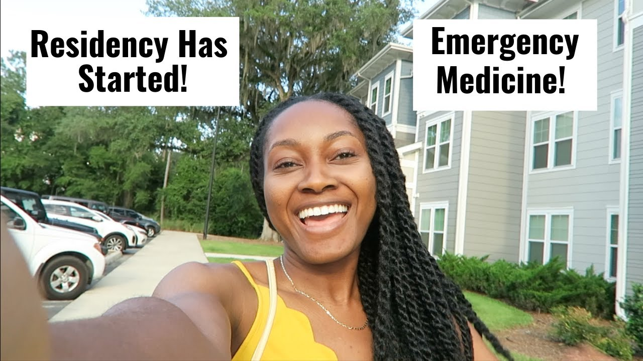 My First Day of Residency! | I'm in FLORIDA Working as an ER Doctor Y'all!