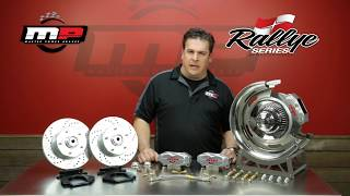 Rallye Series Brake System Video by Master Power Brakes