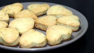 Печенье с солеными огурцами. Бюджетный и постный рецепт