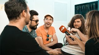 Baixar bastille interview with rfm at rock in rio festival 2018