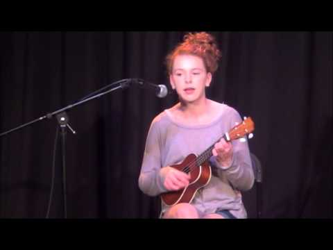 """Maddy performs """"Can't Help Falling in Love"""" @ MTC 4/22/16"""