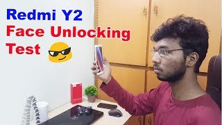Redmi Y2 Face Unlock Test || in telugu ||