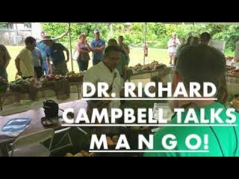 Mango Lecture  Dr Richard Campbell