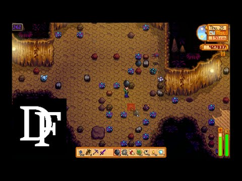 Stardew Valley Skull Cavern Level 262 Swimming In