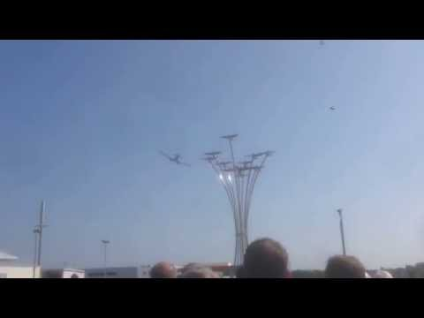 Allied Aircrew Memorial Flyby (HD)