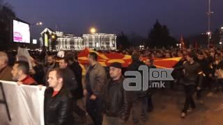 Nisin protestat kundër shqipes (VIDEO)