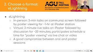 AGU GeoHealth Early Career Webinar: Proposing & Convening A Session At AGU
