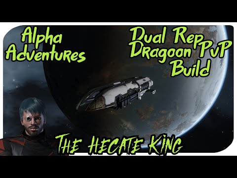 Eve Online Alpha PvP ( Dual Rep Dragoon With Explanation )