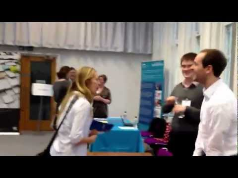 A tour of the exposition hall at the OR Society Careers day