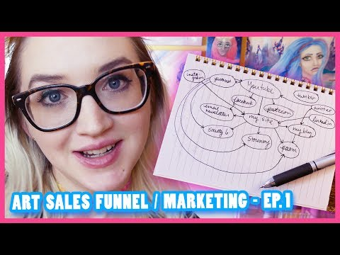 CREATING AN ART SALES FUNNEL AND MARKETING PLAN  |  PART 1