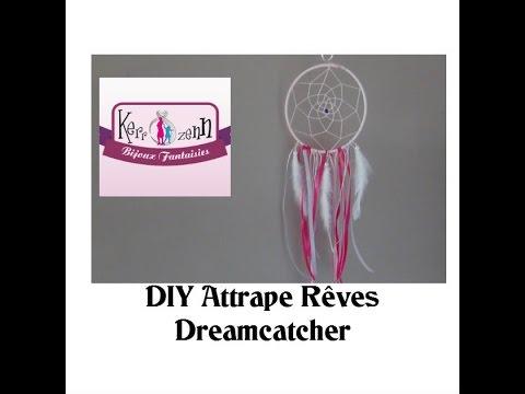 Attrapes Reves Capteur De Reve Tuto Idee Creative Diy Dreamcatcher Youtube