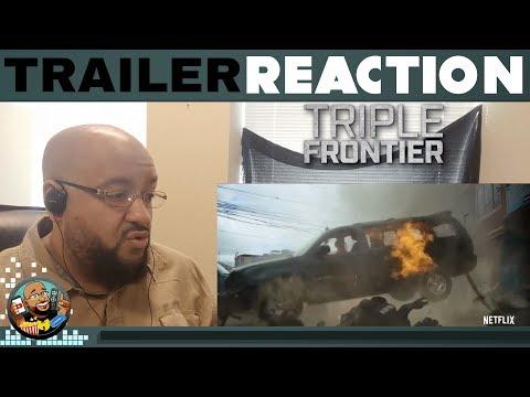 Triple Frontier Trailer #1 REACTION