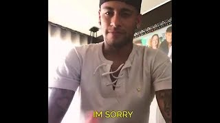 Neymar Made a Farewell Message To Messi, Suarez,  To All Barcelona Fans  English Subtitles