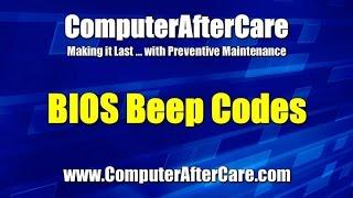 Bios Beep Codes