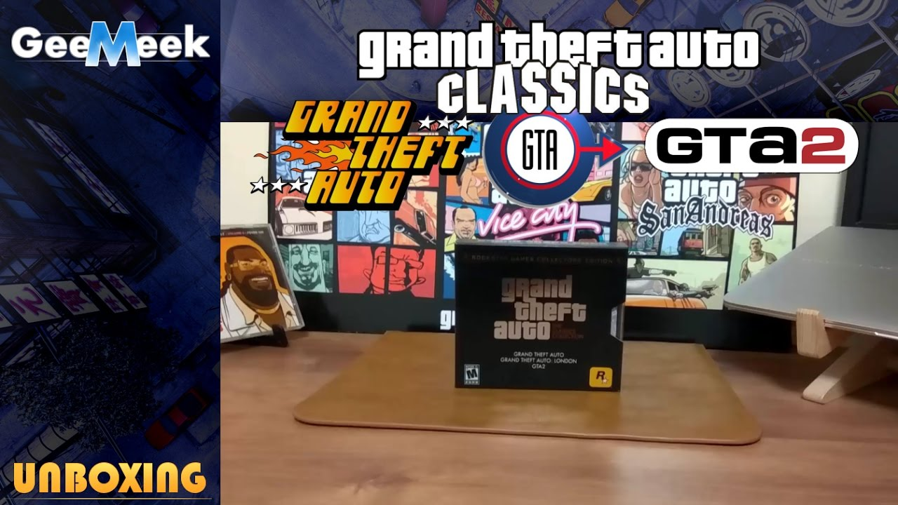 Gta 2 gameboy color - Grand Theft Auto Classics Collection Pc Gta 1 Gta London 1969 Gta 2 Unboxing