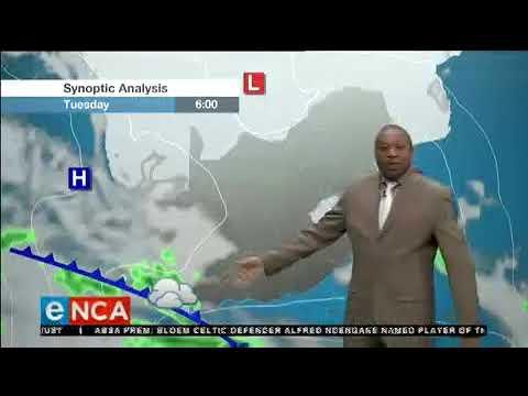ENCA Weather Foreca At 7pm  17 Sep 2018