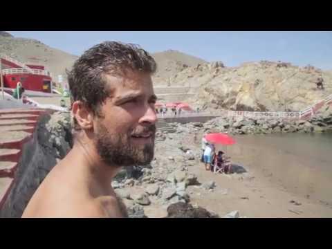 Viaja y Prueba en las playas de Arequipa, Tacna y Moquegua  con Luciano Mazzetti.