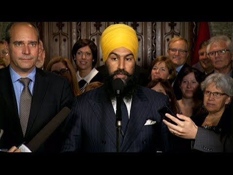 NDP leader Jagmeet Singh on party's priorities, PM Trudeau