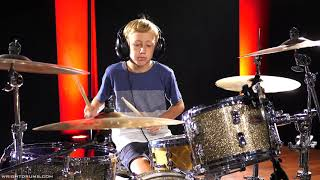 Wright Music School - Cooper Jeffcoat - Green Day - Warning - Drum Cover