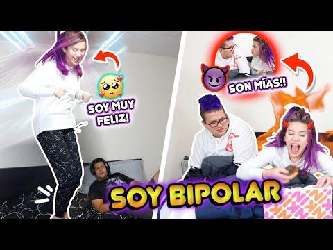 SOY BIPOLAR!!🎭 MI PRIMERA VEZ CON EL PERIODO!!! 🤣😭 | Leyla Star 💫