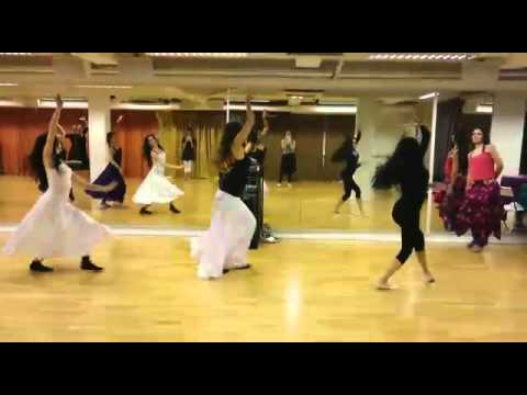 Saaghi Choreography by Banafsheh Sayyad in Madrid Spain 2016