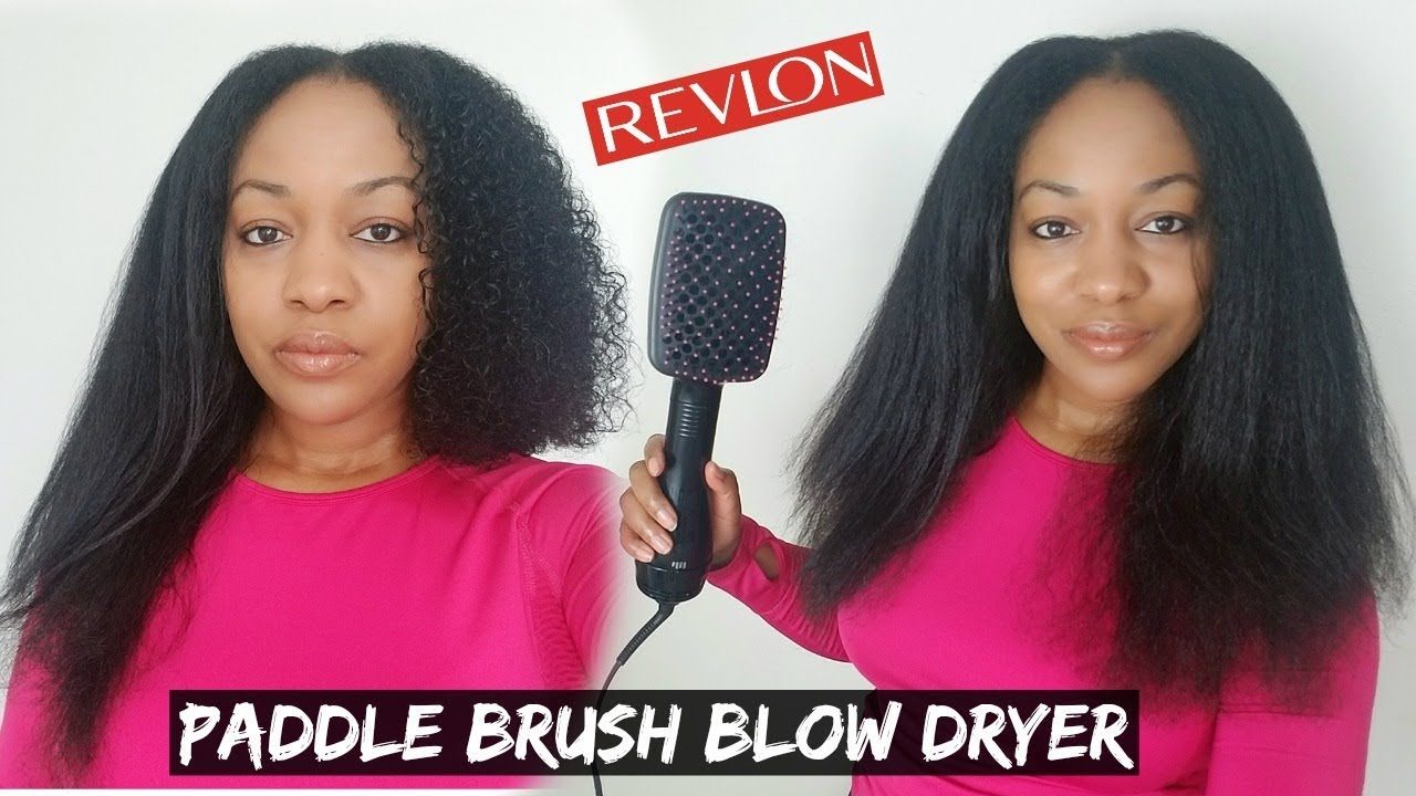 Best Blow Dryer Brush Revlon One Step Hair Dryer And Styler Review Demo Youtube