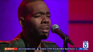 """Mario Performs his New Single """"Drowning"""" LIVE on KTLA"""