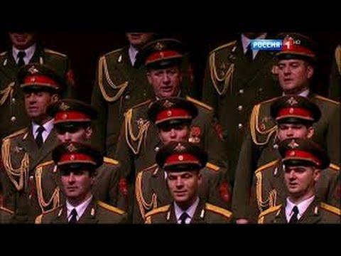 Russische Musik: Alexandrow Chor - Konzert im Bolschoi Theater in Moskau