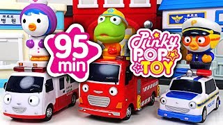 October 2018 TOP 10 Videos | 95min Baby shark | PinkyPopTOY