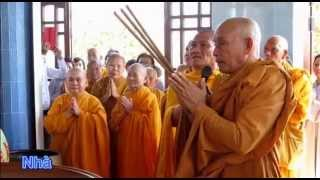 Hoa Hậu Bích Liên xuất gia đi tu vì sao? Lễ tại Tịnh Xá Ngọc Vân Bình Thuận
