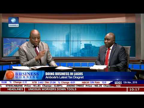 Focus On The Economy And Commerce Of Lagos Pt.1 |Business Mo