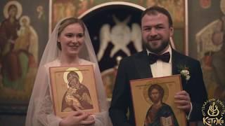 Венчание  Владимира Теленкова и Дарьи Бариновой