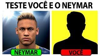 Teste Você e o Neymar Para Descobrir se você é o próximo Neymito